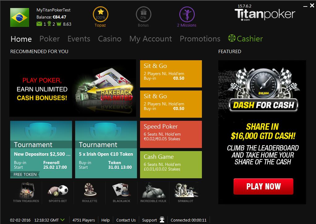 Титан покер